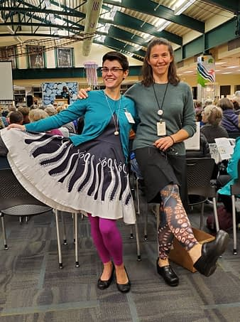 octo-stylin' librarians