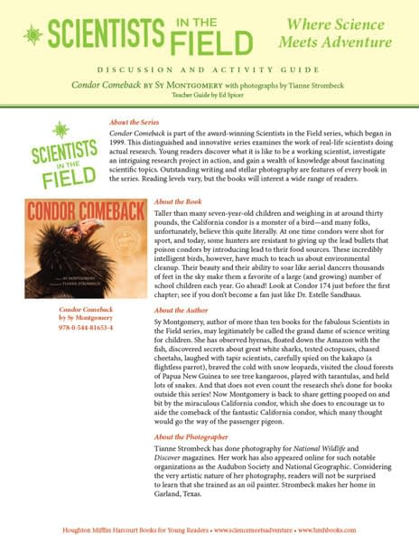 Octopus Scientists Discussion & Activity Guide