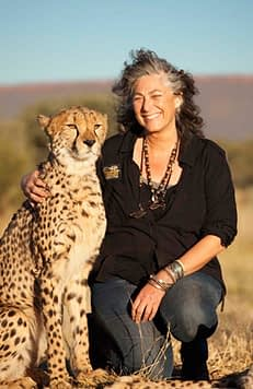 Laurie Marker and Friend